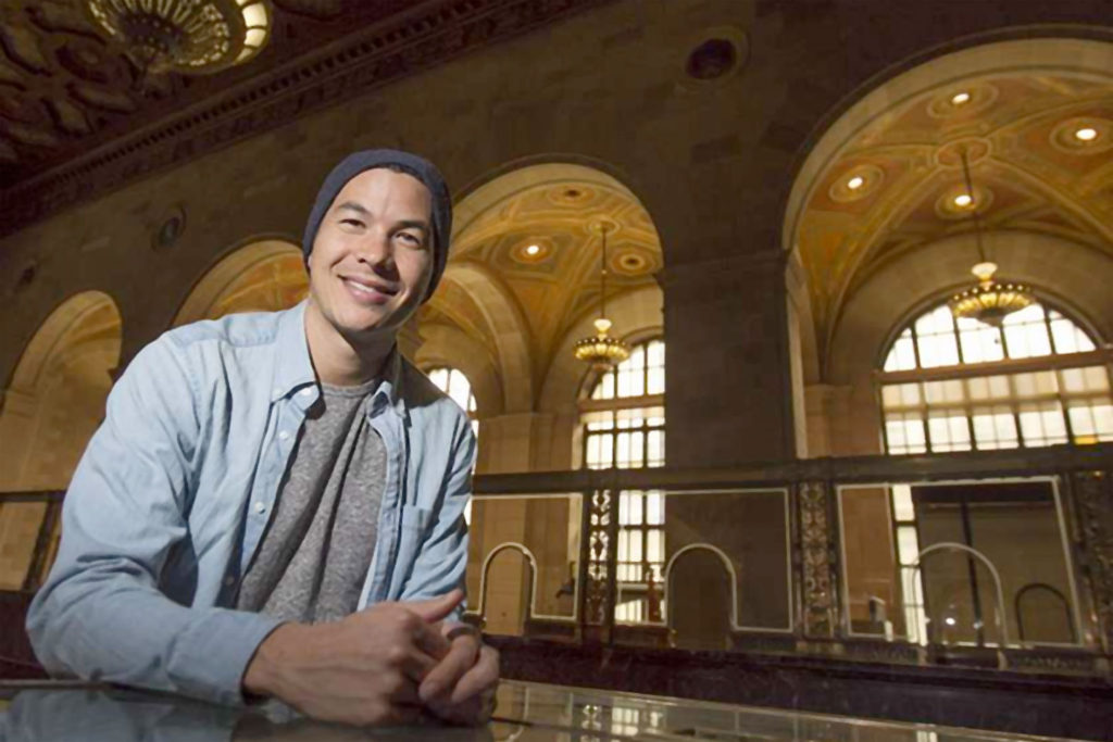 Mikael Cho is CEO and co-founder of new co-working space Crew, which will soon offer space in the former Royal Bank headquarters in Old Montreal.